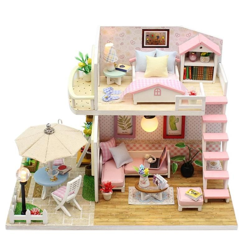 SURPRISES!! LOL SURPRISE DOLL HOUSE Made with REAL WOOD