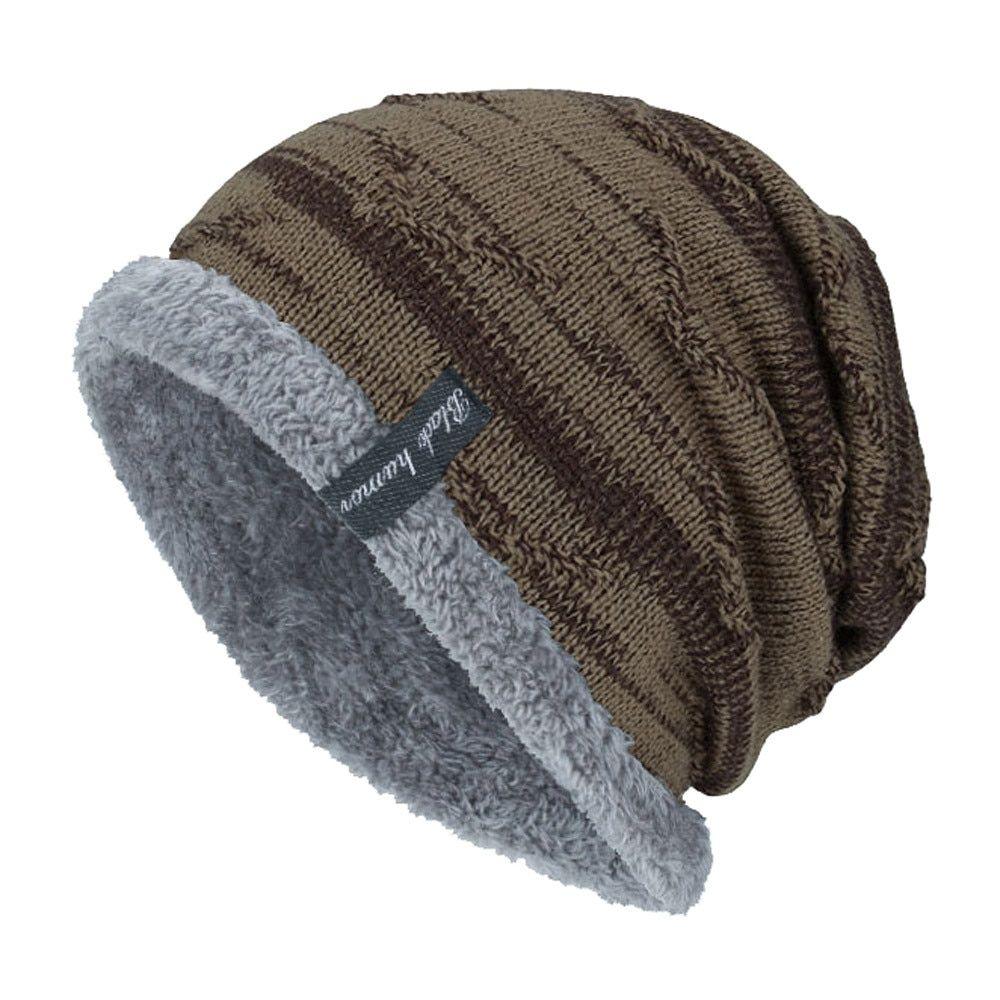 c7a51b05f Winter Beanies Slouchy Chunky Hat for Men Women Warm Soft Skull ...