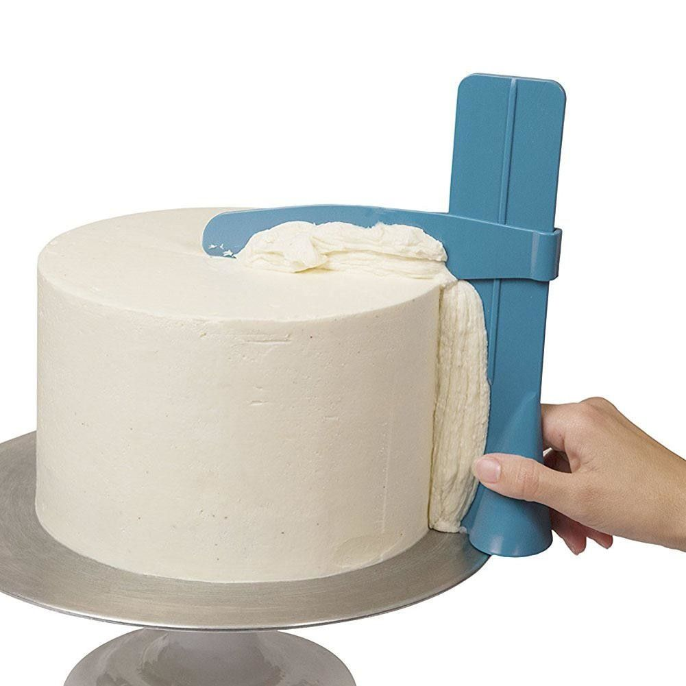 Details about Cake Scraper Smoother Fondant Spatulas Cake Edge Smoother  Cream Decorating Tools