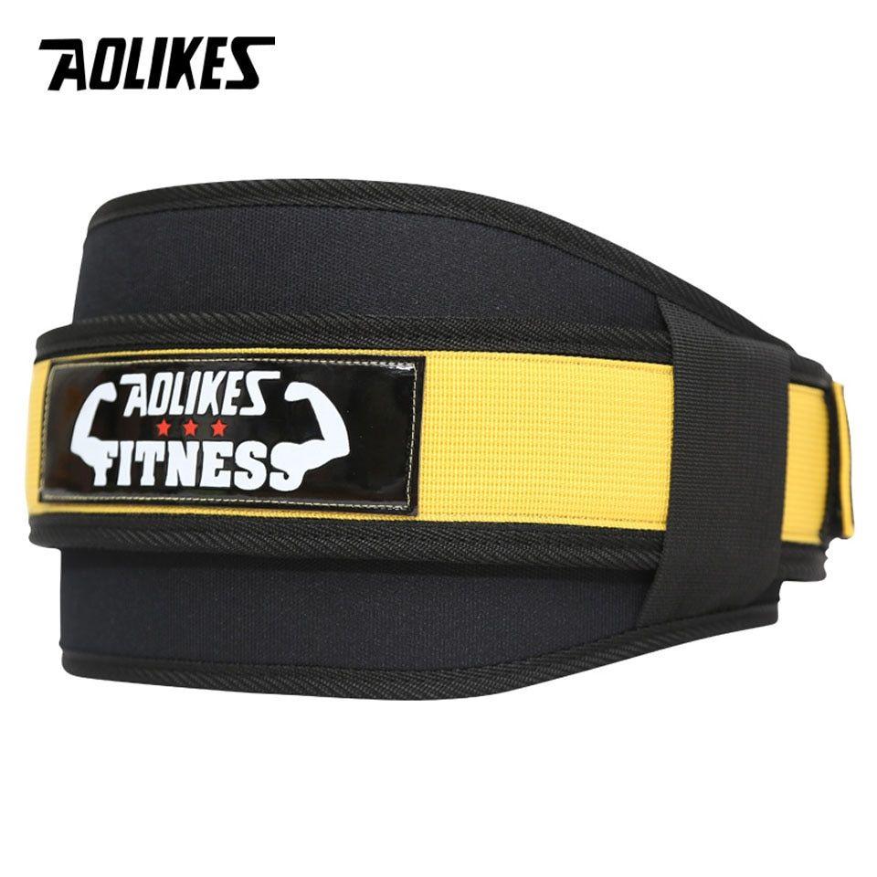 Correa para Levantar Pesas Cinturón Ajustable Protección Espalda Baja Lumbar Gym