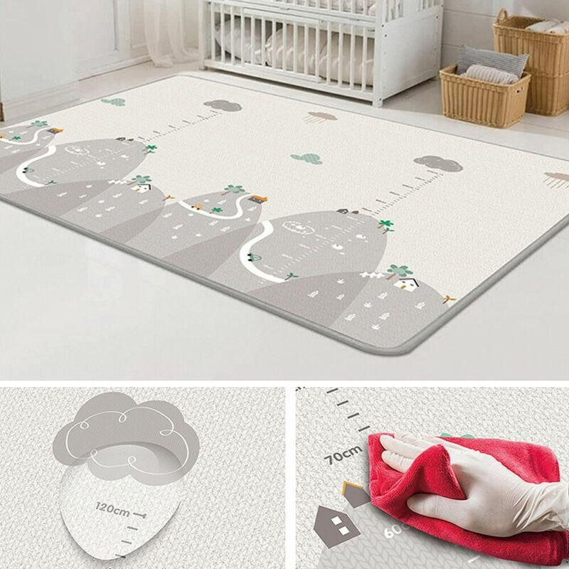 Bammax Baby Play Mat Foam Playmat for Baby Children Large Soft Baby Crawling Mat