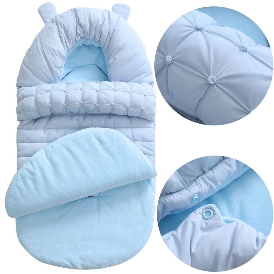US Warm Newborn Baby Blanket Swaddle Sleeping Bag Stroller Wrap Sleepsacks DS