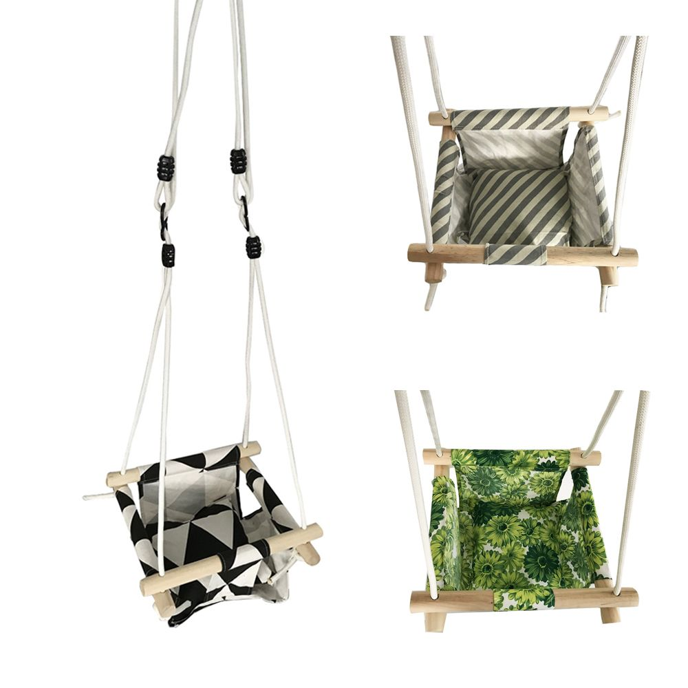 Baby Swing Hammock Seat Hanging Chair Cushion Outdoor Indoor ...