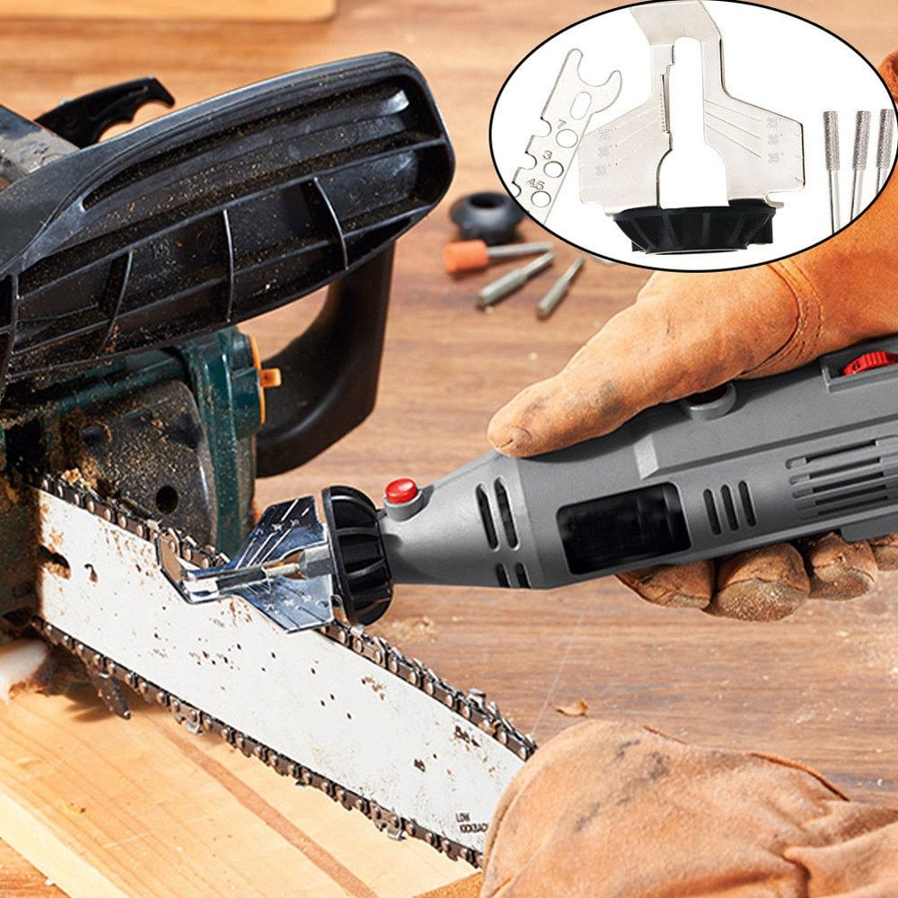 Fast Grinding Chain Tool Woodworking Special Chain Saw Sharpener for Garden work