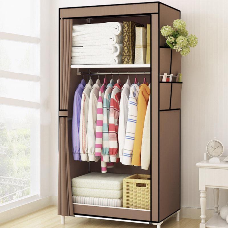 Folding Wardrobe Clothes Storage Portable Closet Organizer Cabinet