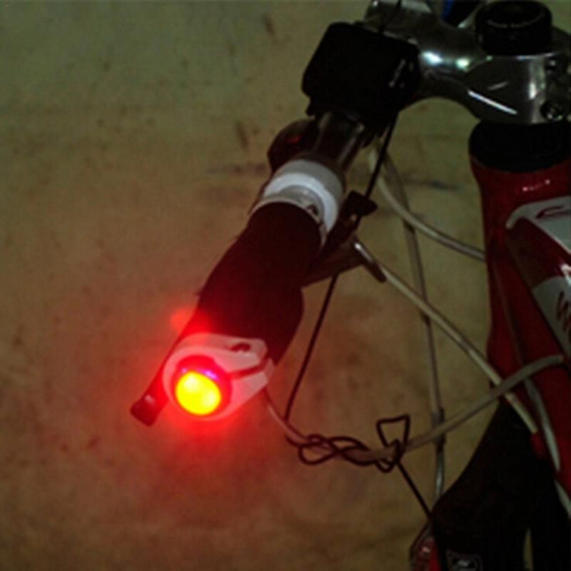 Flashing Bicycle Handlebar Turn Indicator Lights Safety Warning Bike Light Lamp