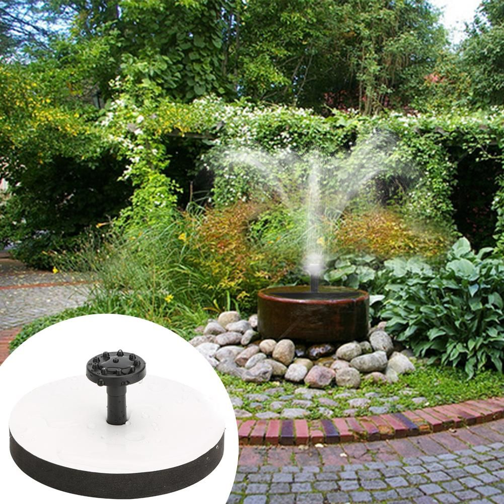 Solar Panel Power Fountain Pump Kit Garden Pond Water Pool