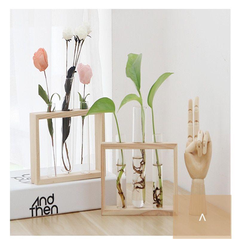 Bird Ceramic Flower Pot w// Iron Frame Handle Vase Hydroponic Plant Holder