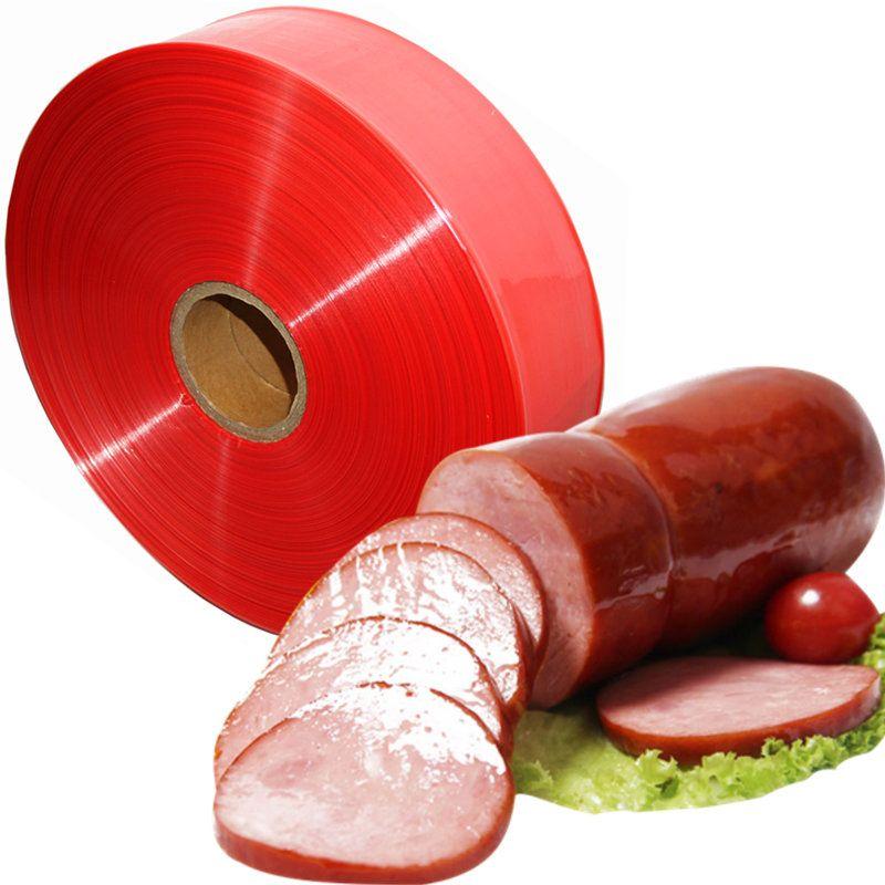 Food Grade Sausage Casing Ham Plastic Shell 10 Meters Inedible Salami Casings