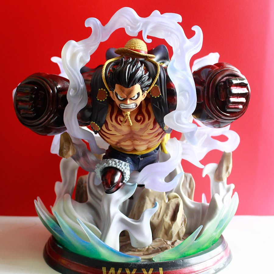One piece Monkey Prof Luffy Quatrième Gear Figurine Emballé Animé Action Modèle