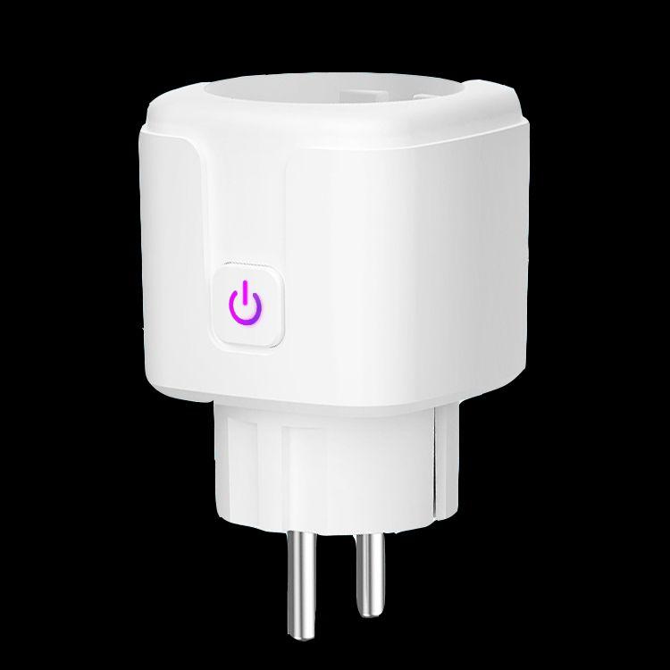 Wifi Smart Wireless Plug Eu Us Uk Adaptor Remote Voice Control Power Energy Ebay