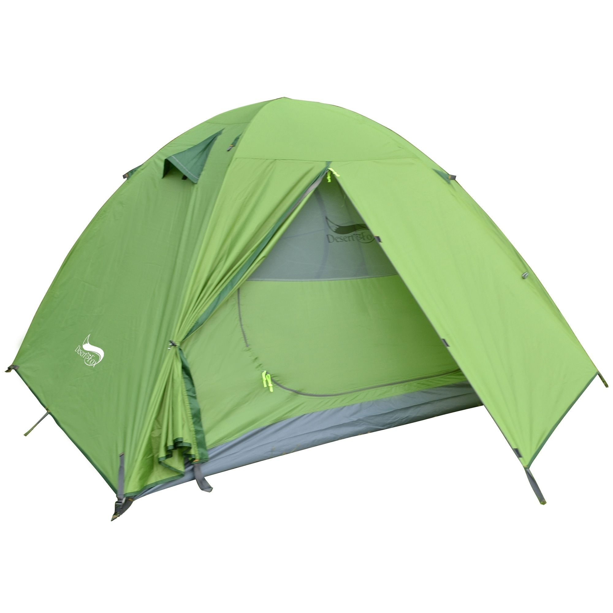 Camping Tent 1 and 2 Person Backpacking Tent Double Layer Portable Outdoor 99
