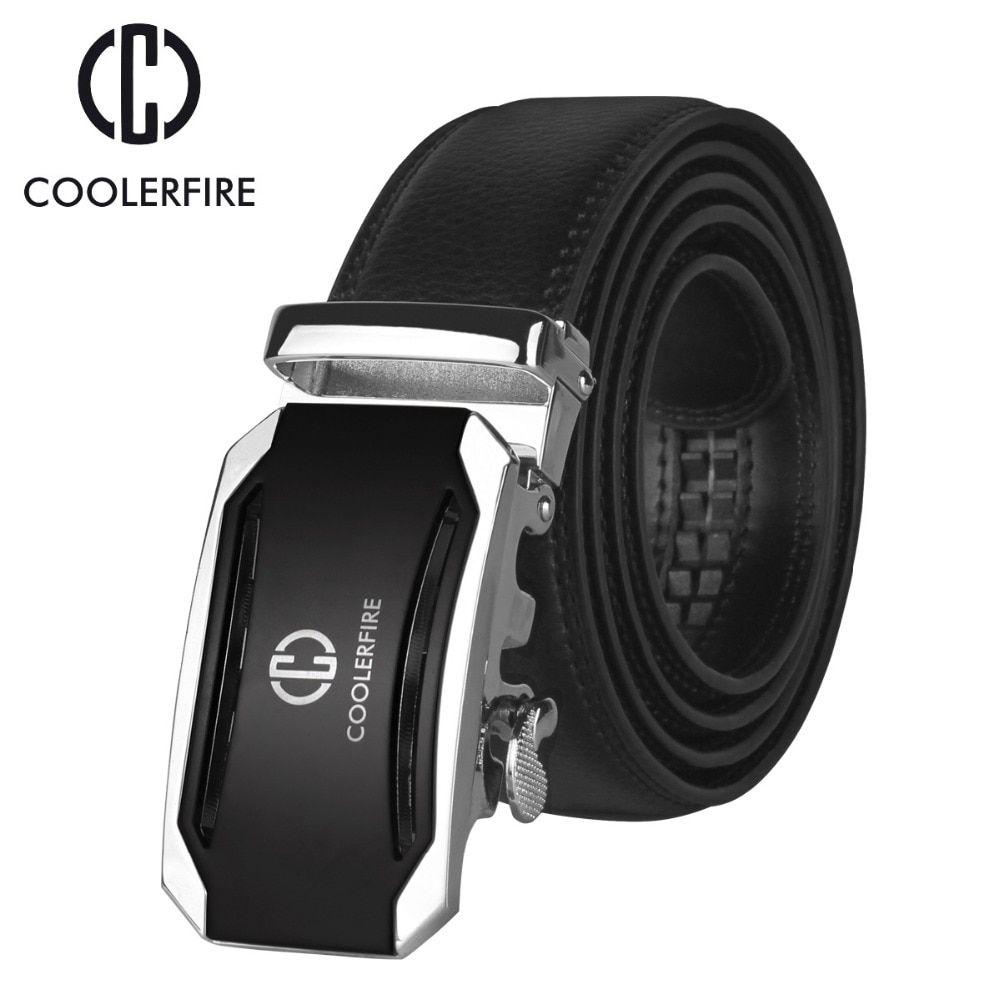 Belt Men for Men Luxury Male Metal Automatic Buckle