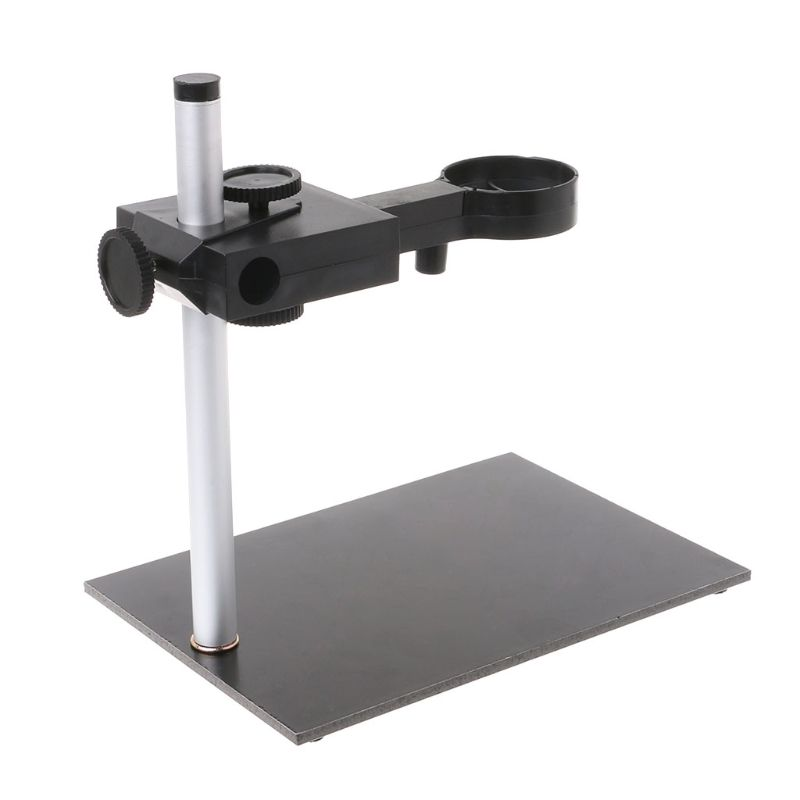 Adjustable Microscope Stand Endoscope Microscope Holder 12mm Digital Professional for Loupe Camera for 12mm USB Microscope for Magnifier