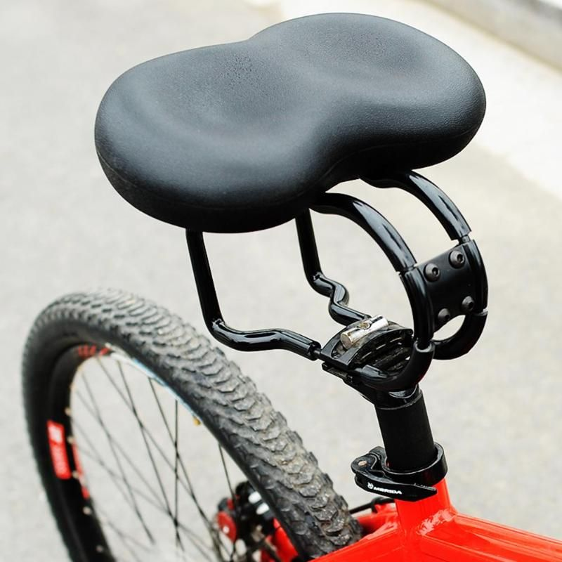 Noseless MANTA MS5 comfort saddle no pain no pressure 400 sq cm seat area