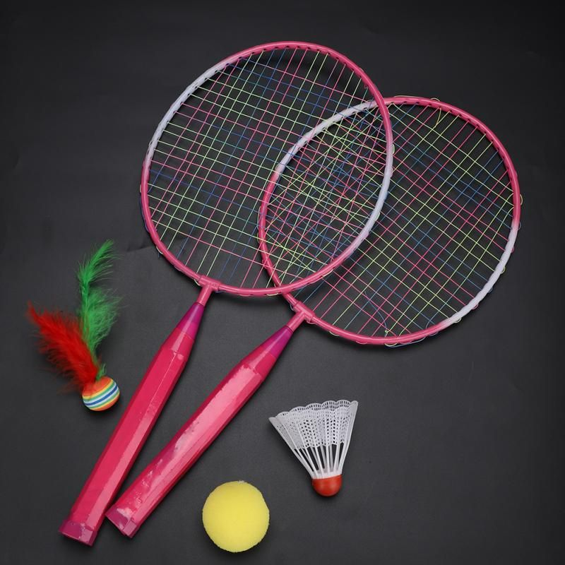 Colorful Kids Outdoor Sports Play Game Toy Badminton Shuttlecocks
