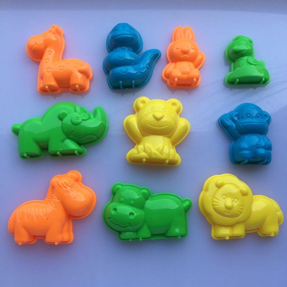 clay toys animals