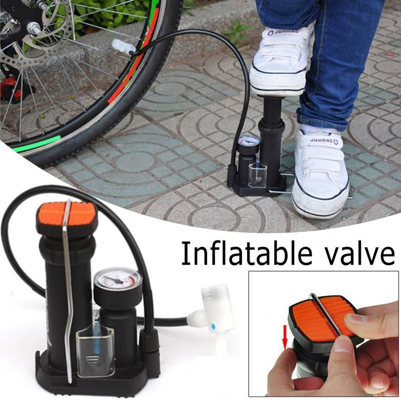 Portable Bike Bicycle Pump High Pressure Out Cycling Motorcycle Air Tire Pump