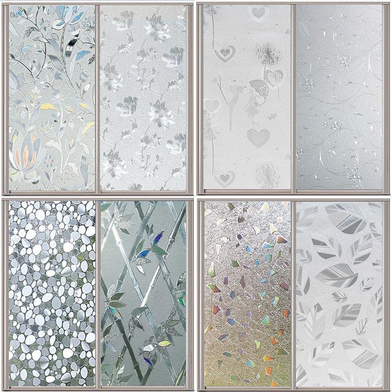 decorative glass bathroom windows 3d static window cover film glass sticker bathroom windows paper  film glass sticker bathroom windows