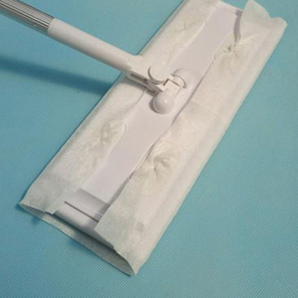 Details about Disposable Electrostatic Dust Removal Mop Paper Home Kitchen  Bathroom Cleaning