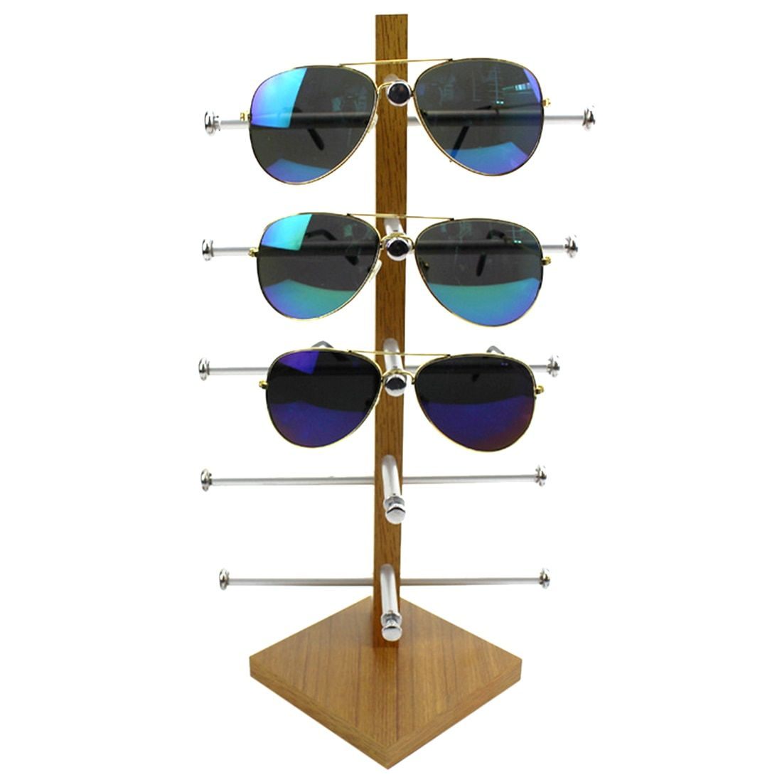 Essencedelight Display Stand Box Protective Case for Eyeglasses Sunglasses Ornament Cases Holder Jewelry Desktop Organizer