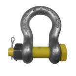 Shackle w screw/splint, 3250kg