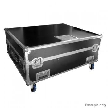 Touring Case 5XACL Curtain 14x15 RGBW