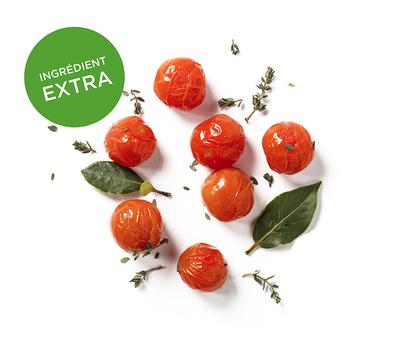 Tomates cerises confites au thym