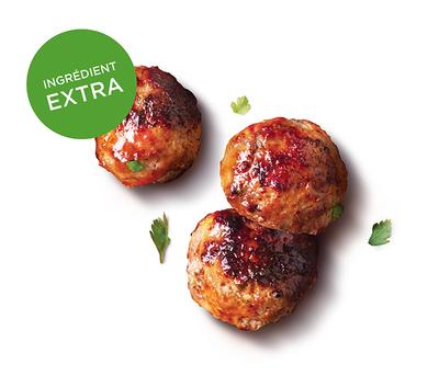 Meatballs de boeuf
