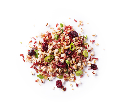 Céréales pilaf aux cranberries