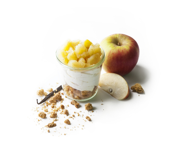 CRUMBLE CHANTILLY POMMES CANNELLE