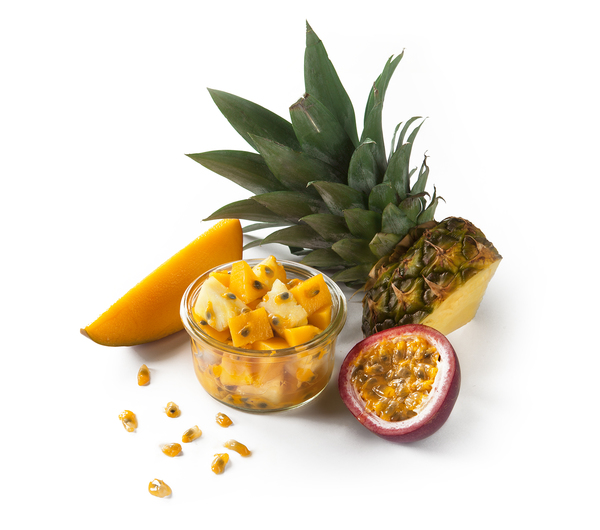 SHOOT DE FRUITS - MANGUE ANANAS PASSION
