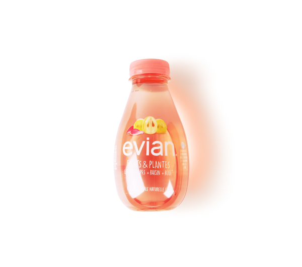 Evian fruit&plante Raisin 37cl