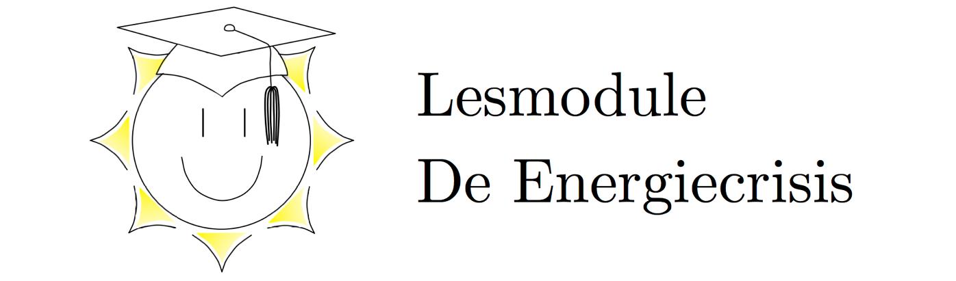 Lesmodule De Energiecrisis