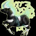 Cheval de selle Camargue Gris Truité
