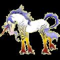 Licorne de selle Hanovrien Gris Clair