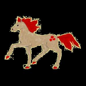 Cheval de selle Holstein Alezan