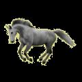 Pégase de selle Mustang Rouan