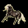 Licorne de selle Camargue Gris Clair