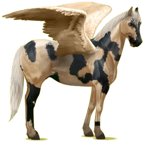 Pégase de selle Quarter Horse Alezan