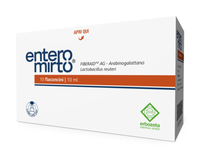 Entero Mirto single-dose bottles