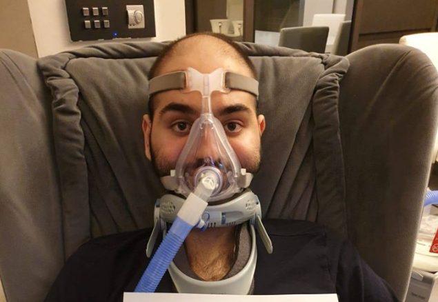 """Lo sciopero della fame dello chef Paolo, malato di SLA: """"Dov'è lo Stato?"""""""