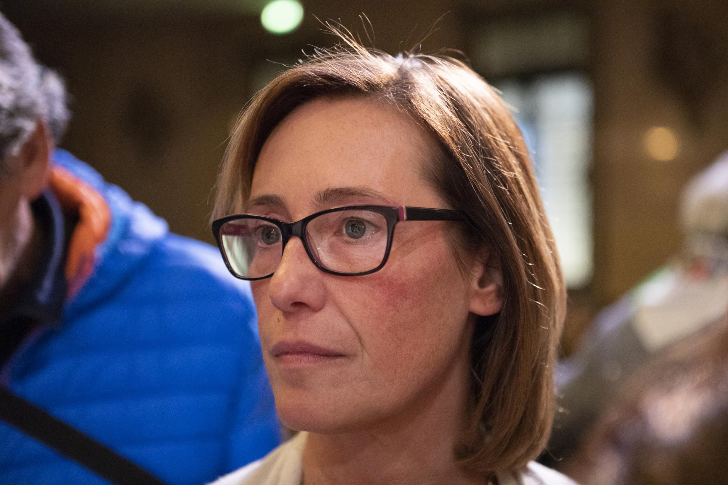 """Ilaria Cucchi: """"Dopo 10 anni di menzogne e depistaggi in quest'aula è entrata la verità"""""""