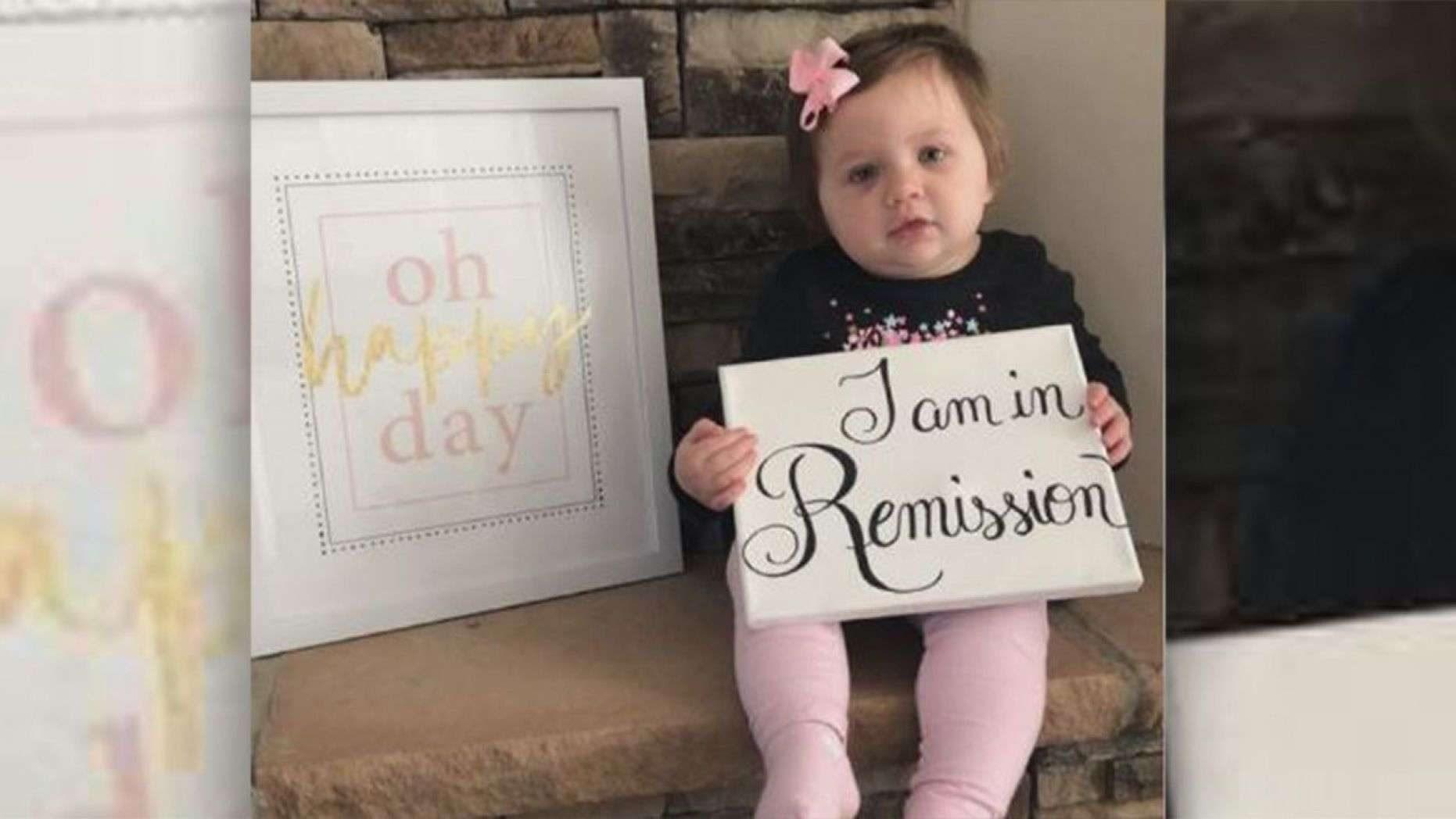 Malata da quando aveva 5 mesi, la piccola Molly ce l'ha fatta: ha sconfitto il cancro