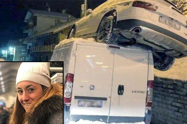 Sofia Goggia, incidente per la campionessa di sci: esce di strada col suv e atterra su un furgone