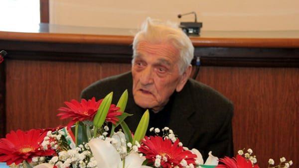 È morto all'età di 106 anni Romano Marchetti, decano dei partigiani d'Italia