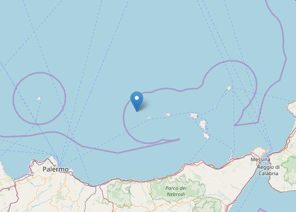 Terremoto in Sicilia, due scosse al largo delle Eolie: avvertite anche a Palermo e Messina