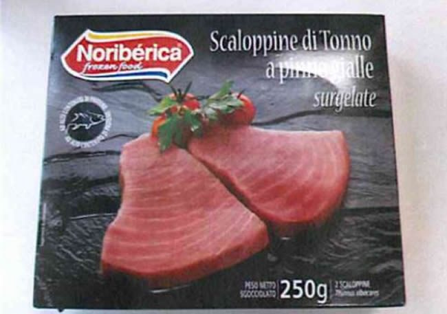 Scaloppine di tonno ritirate, avviso del Ministero: istamina oltre i limiti