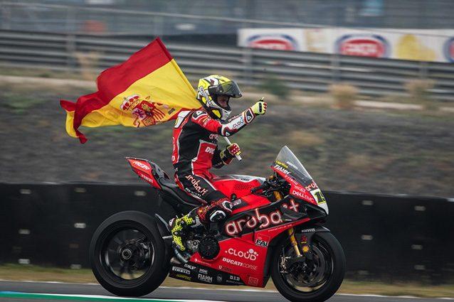Superbike: Ducati da padrona ad Aragon, Bautista vince anche la Superpole Race