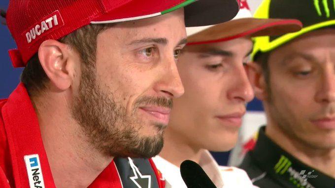 """MotoGP, Rossi e Dovizioso: """"Battere Marquez ad Austin? Niente è impossibile"""""""